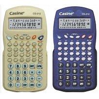 Kalkulačka CASINE CS-212 vědecká modrá, šedá
