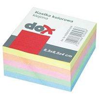Blok špalíček 85 x 85 x 40 barevný lepený