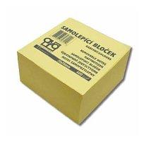 Blok lepící Memonotes 76x76 žl. 400I