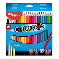 Pastelky MAPED Color Peps 24