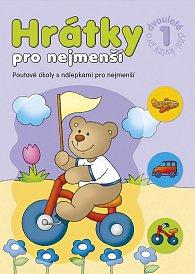 Sešit kreativní Hrátky pro nejmenší kvízy pro dvouleté děti 1