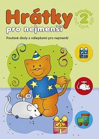 Sešit kreativní Hrátky pro nejmenší kvízy pro dvouleté děti 2