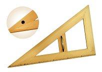 Trojúhelník dřevěný 30* s protiskluzem