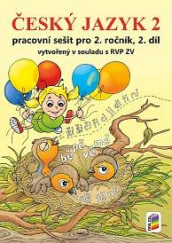 Český jazyk 2 PS 2. díl barevné PS