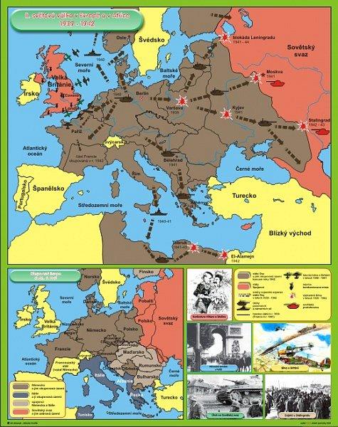 Druha Svetova Valka V Evrope A Africe 1939 1942 Okupovana